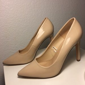 Forever 21 Tan heels